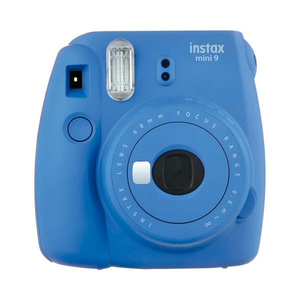 Fujifilm instax mini 9 azul cobalto cámara instantánea con flash