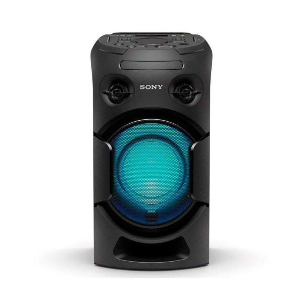 Sony mhc-v21d sistema de audio de alta potencia nfc bluetooth reproductor de dvd integrado con hdmi arc