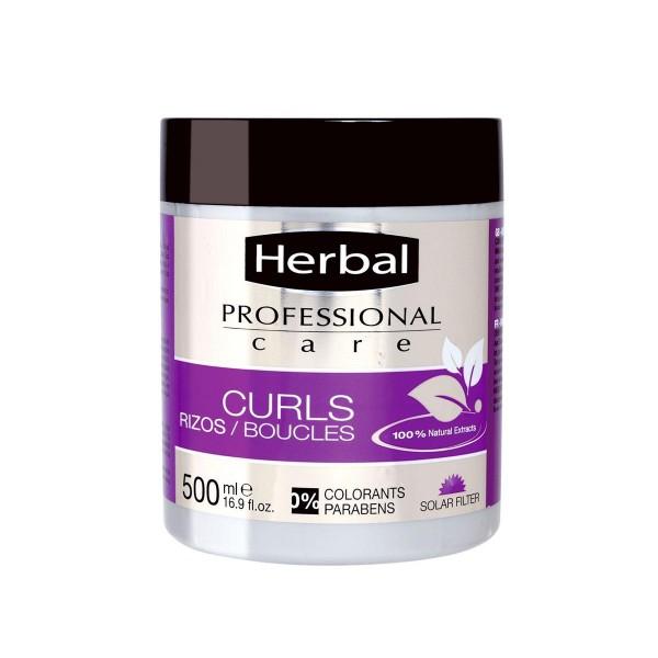 Herbal professional care curls nutritive moisturising mascarilla 500ml