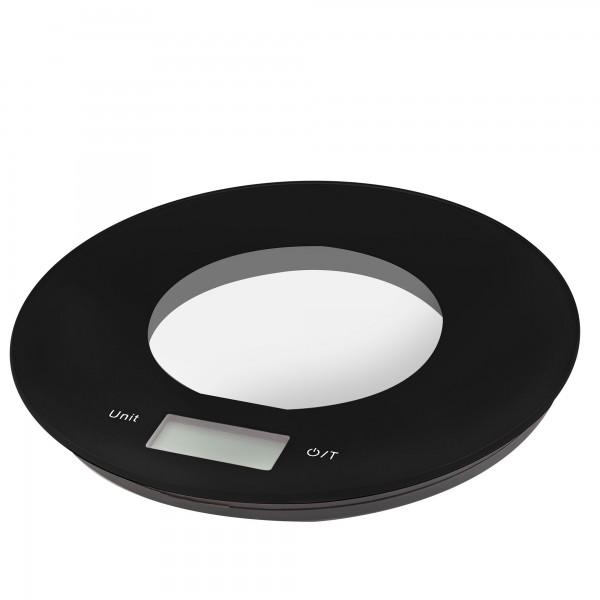 Balanza cocina elect. kuken 5 kg. negra