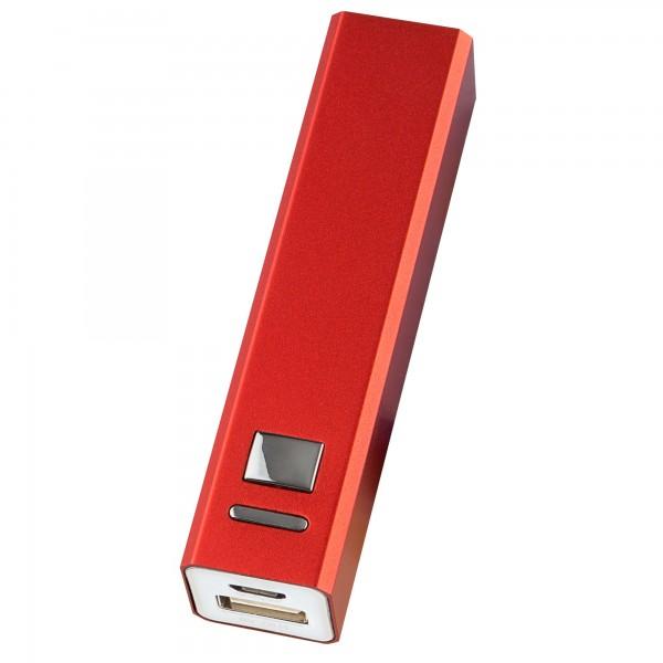 Bateria externa onlex 2600mah roja