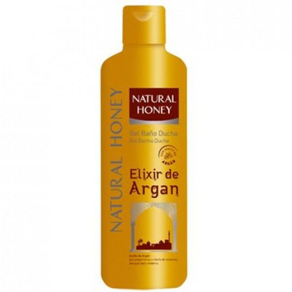 Natural honey gel elixir de argan 750ml