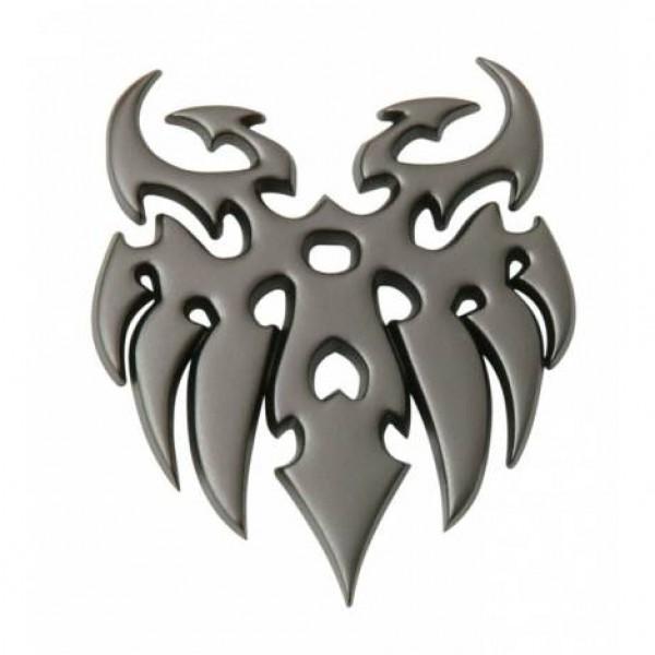 """Emblema """" tattoo """" gun metal"""