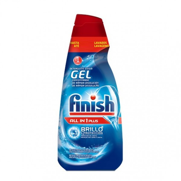 Finish Gel all in one plus  700 ml  33 + 2 lavados