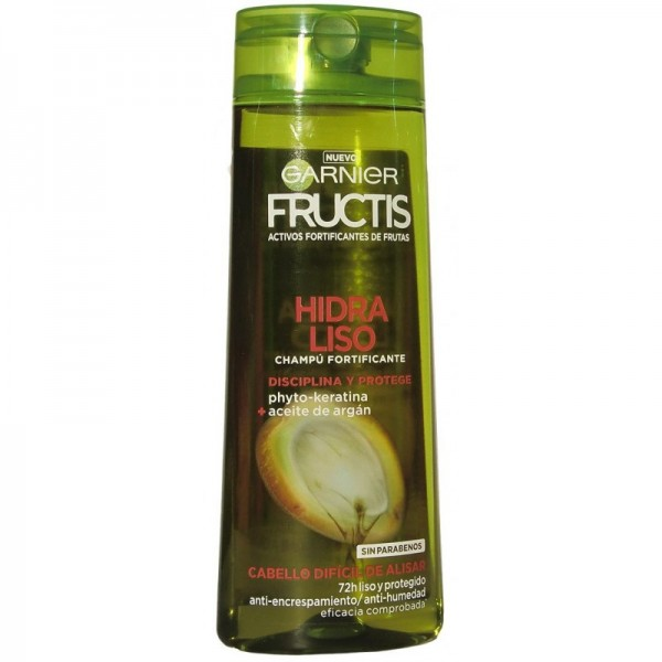 Garnier Fructis champú fortificante hidra liso 360ml