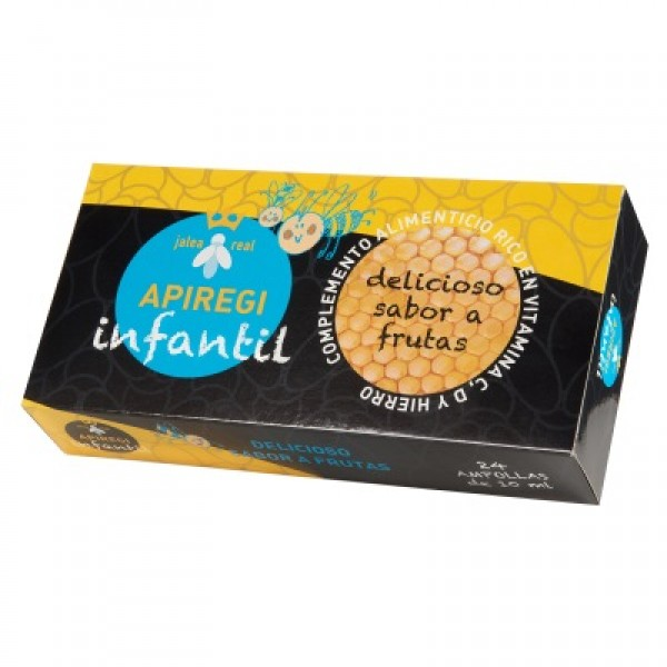 Apiregi infantil (jalea+ vit.+ minerales) 24x10 ml