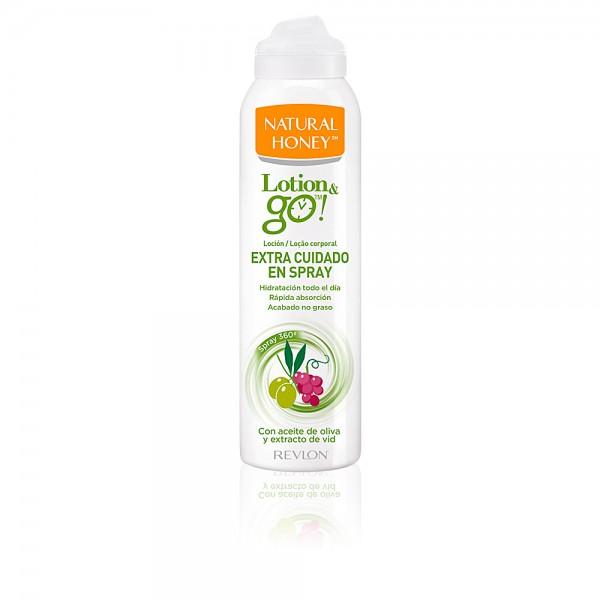 Natural honey lotion go spray extra cuidado 200ml.