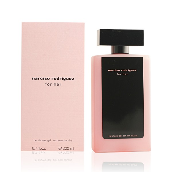 Narciso rodriguez for her gel de baño perfumado 200ml