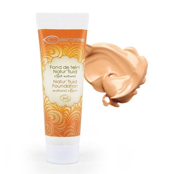 Couleur caramel fond de teint natur fluid effet naturel nº13 beige abricot