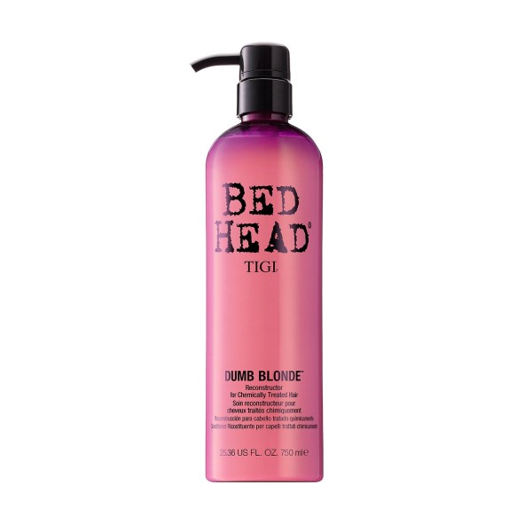Tigi bed head dumb blonde acondicionador reconstructor cabello tratado 750ml
