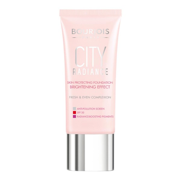 Bourjois city radiance skin protecting foundation spf30 nâº35