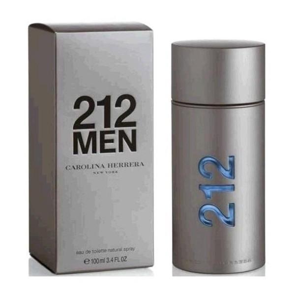 Carolina herrera 212 men eau de toilette 100ml vaporizador