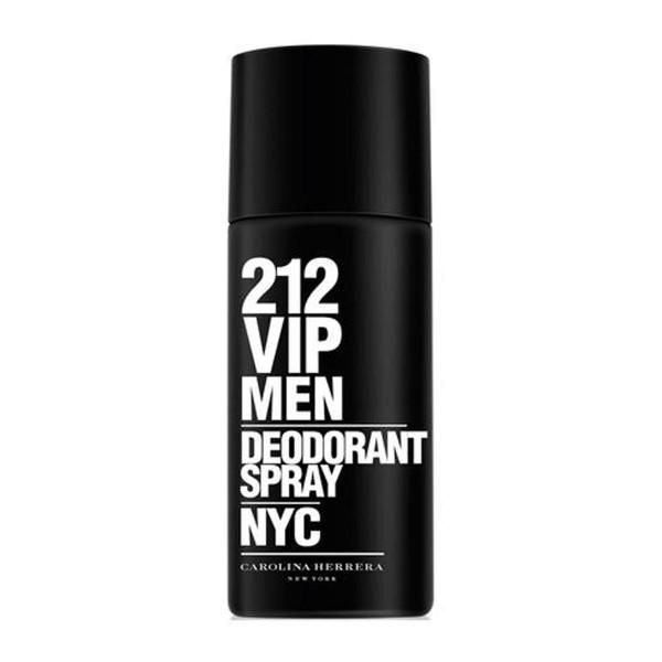 Carolina herrera 212 vip men desodorante 150ml vaporizador
