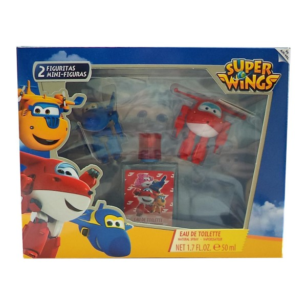 Disney super wings eau de toilette 50ml vaporizador + figura 1u + figura 1u
