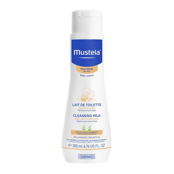 Mustela cleansing leche corporal 200ml