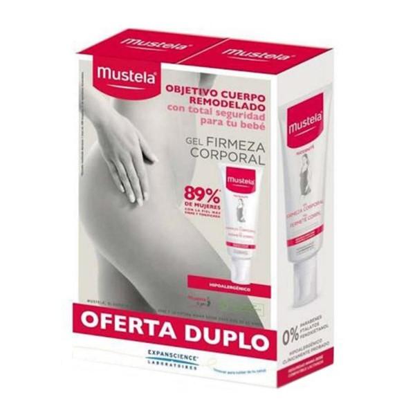 Mustela corporal gel firmeza 200ml + gel firmeza corporal 200ml
