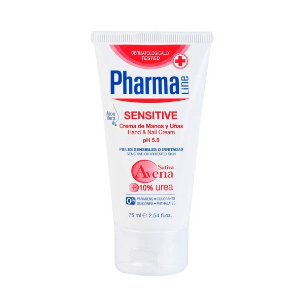 Pharmaline sensitive crema de manos 75ml
