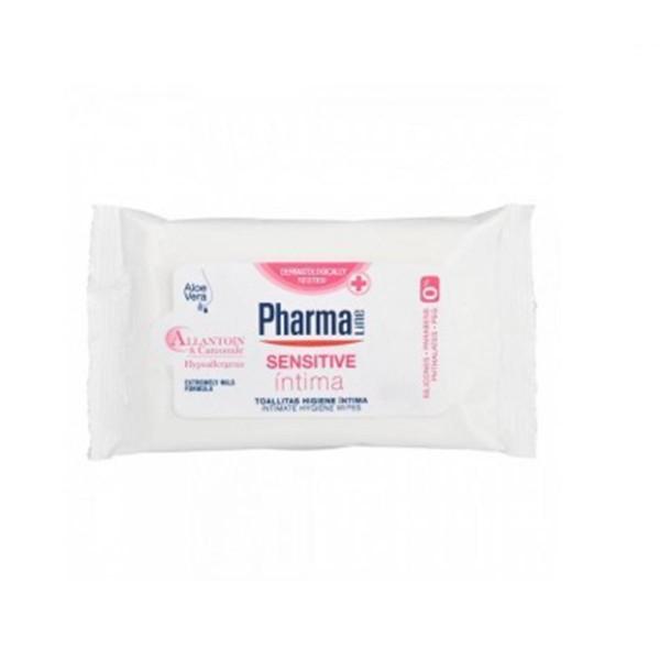 Pharmaline sensitive intima toallitas 1u.