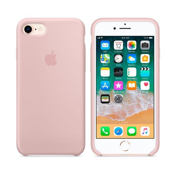 Apple mqgq2zm/a rosa arena carcasa de silicona iphone 8/7