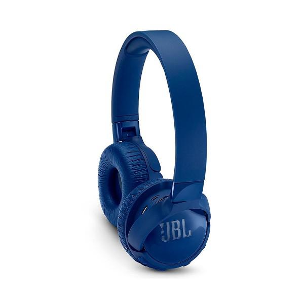 Jbl tune 600 azul auriculares inalámbricos bluetooth con cancelación de ruido y micrófono