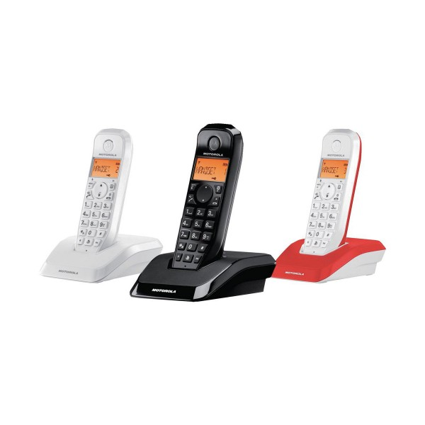 Motorola s1203 maxicolor trio teléfono inalámbrico