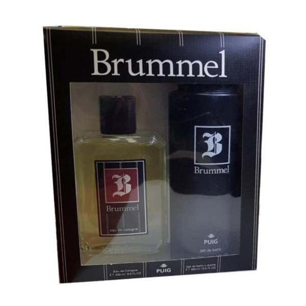 Brummel hombre eau de cologne 250ml vaporizador + gel de baño 400ml