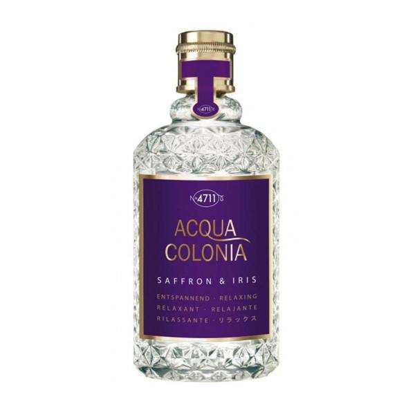 4711 azafran & iris eau de cologne 50ml vaporizador