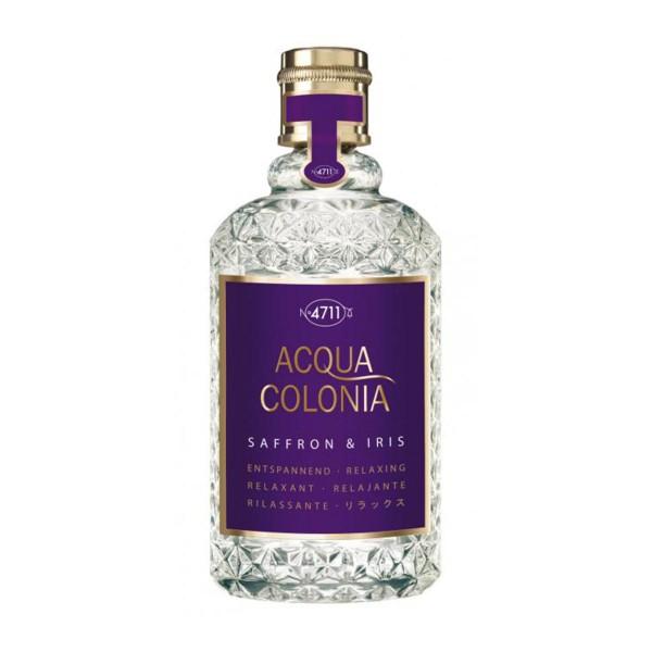 4711 acqua colonia azafran&iris eau de cologne 170ml vaporizador