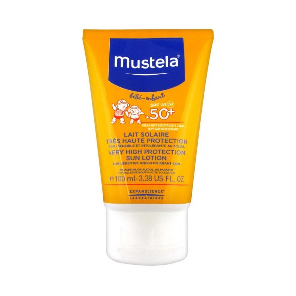 Mustela bebe sun lotion spf50+ 100ml