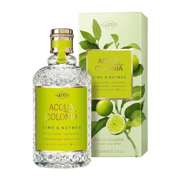 4711 acqua colonia eau de cologne lime & nutmeg 50ml vaporizador