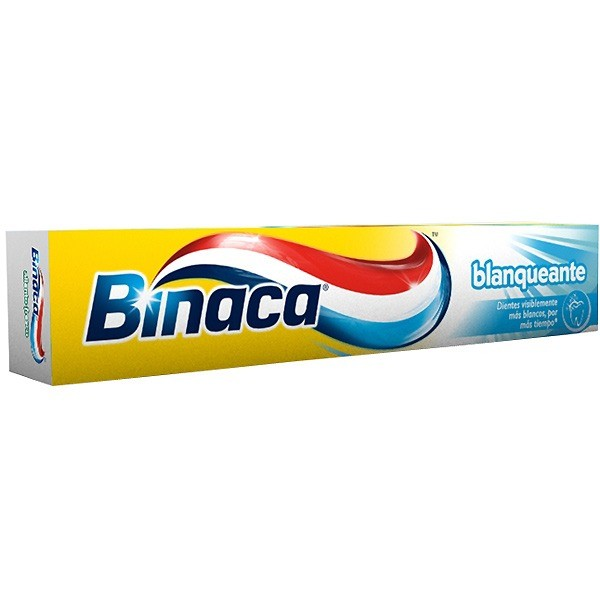 Binaca dentífrico blanqueante 3 x 2 75 ml