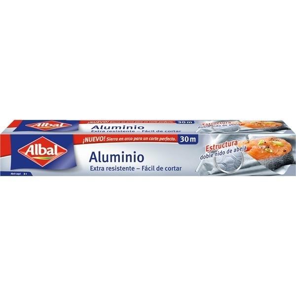 Albal Papel de Aluminio 30 m + gratis 3 bolsas Ultra Zip 1l