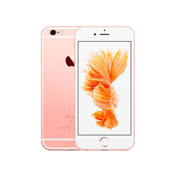 Apple iphone 6s 32gb oro rosa reacondicionado cpo móvil 4g 4.7'' retina hd/2core/32gb/2gb ram/12mp/5mp