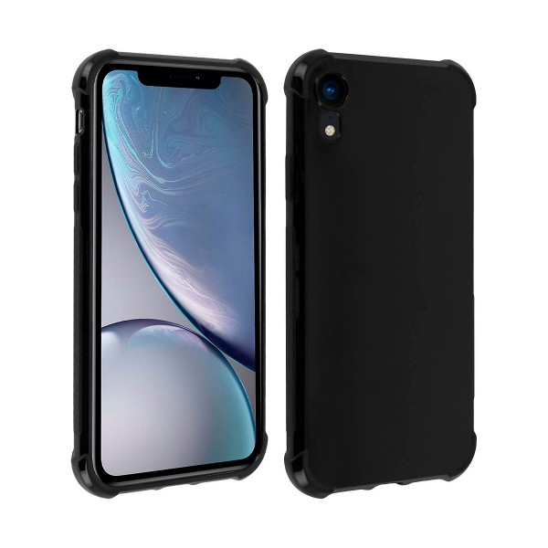 Akashi carcasa silicona negra apple iphone xr