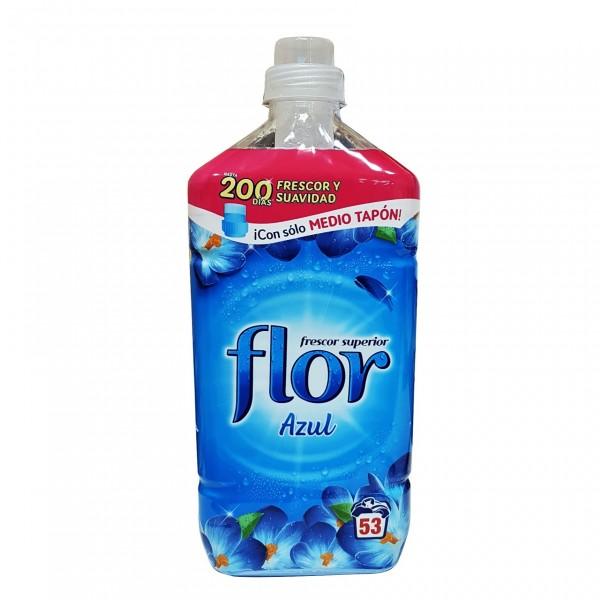 Flor Suavizante azul 45 +8 lavados
