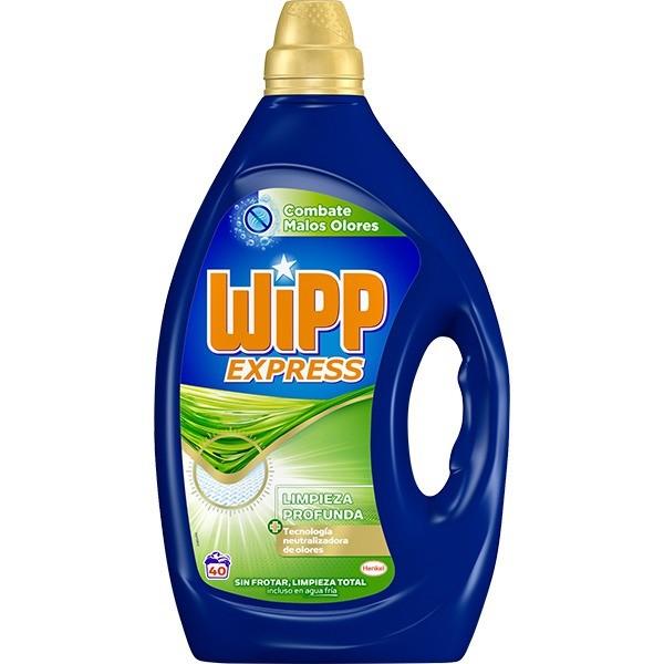 Wipp Express detergente Limpieza Profunda 40 lavados