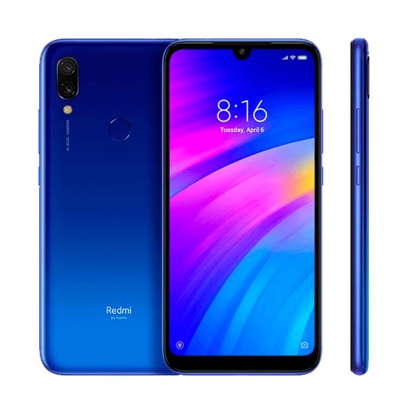 Xiaomi redmi 7 azul cometa móvil 4g dual sim 6.26'' hd+/8core/64gb/3gb ram/12mp+2mp/8mp