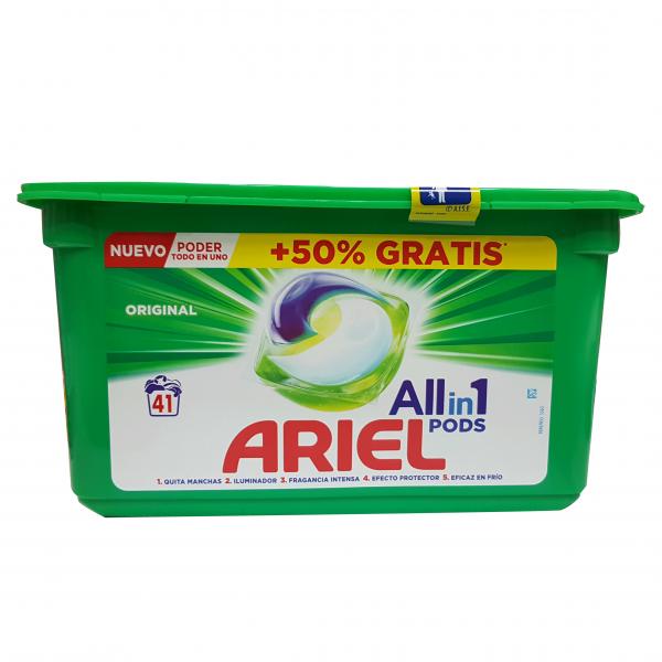 Ariel detergente Tabs 3in1 41 uds