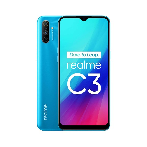 Realme c3 azul hielo 4g dual sim 6.5'' ips hd+/8core/64gb/3gb ram/12+2+2mp/5mp