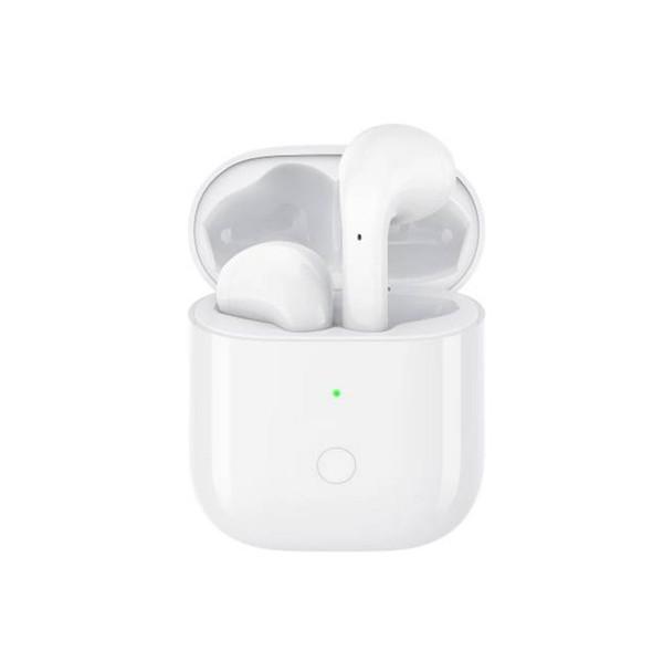 Realme buds air blanco auriculares inalámbricos bluetooth con estuche de carga