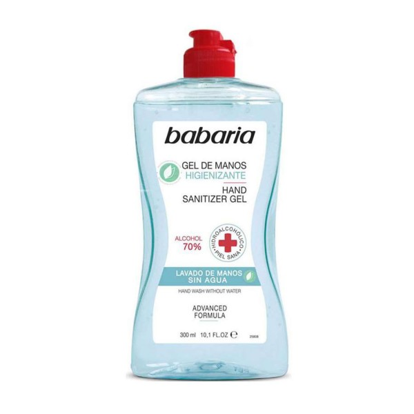Babaria higienizante 70% alcohol gel de manos 300ml