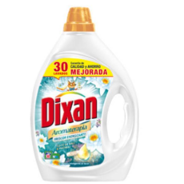 Dixan detergente Aromaterapia Frescor Energizante 30 lavados