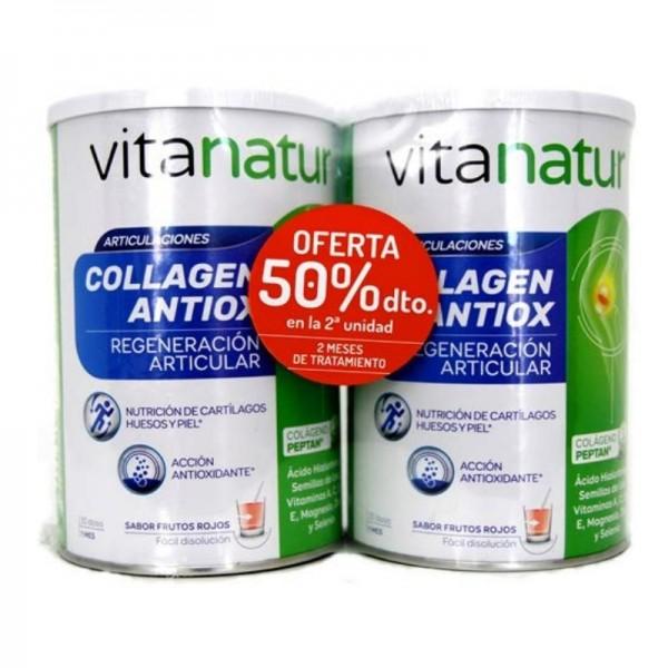 VITANATUR COLLAGEN ANTIOX 2X360 G PROMO