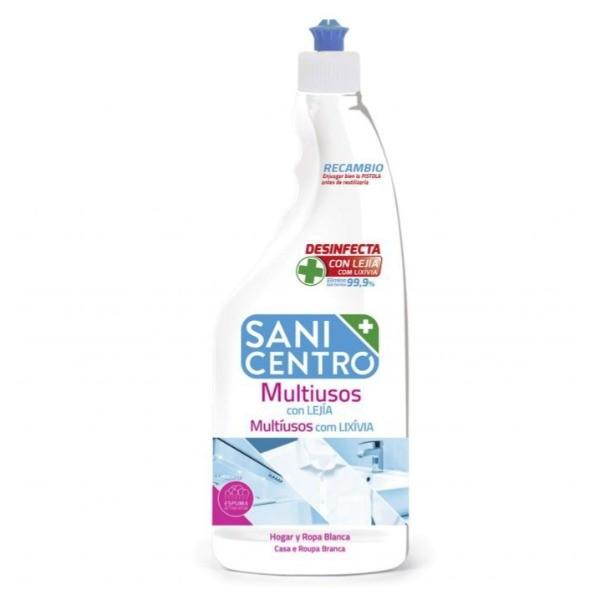 Sanicentro limpiador dosificador Multiusos con Lejía 750 ml